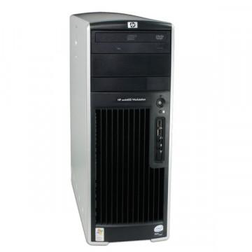 Hp Workstation xw6400, Intel Core 2 Duo E6400, 2.13Ghz, 2Gb RAM, 160 Gb HDD, DVD-RW Calculatoare Second Hand