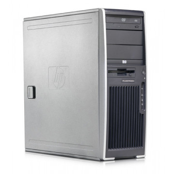 Hp xw4600 Workstation, Core 2 Quad Q9450, 2.66Ghz, 4Gb RAM, 500Gb, DVD-RW Calculatoare Second Hand