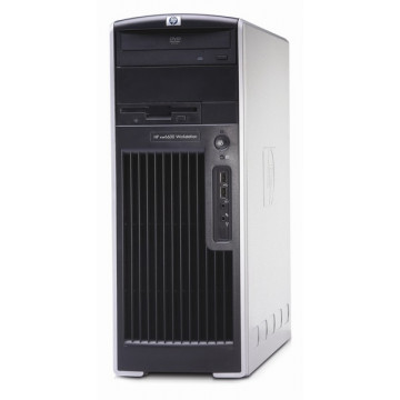 Hp xw6600 Workstation, Intel Xeon Quad Core X5430, 2.66Mhz, 4Gb, 250Gb, DVD-RW Calculatoare Second Hand