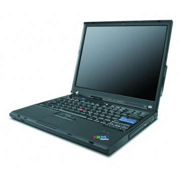 IBM Lenovo T60, Core 2 Duo T7200, 2.0Ghz, 2Gb DDR2, 100Gb, DVD-ROM, 14 inci LCD, Wi-Fi Laptopuri Second Hand