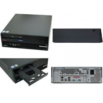 IBM Lenovo ThinkCentre M57, Intel Core 2 Duo E8200, 2gb ddr2, 160gb sata, DVD-RW Calculatoare Second Hand