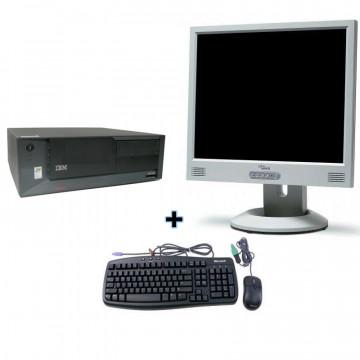 IBM SFF Desktop Intel P4 2.8Ghz, Monitor 19 LCD