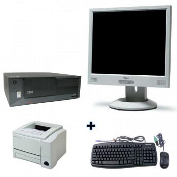 IBM SFF Desktop + LCD 15 + Imprimanta laser A4