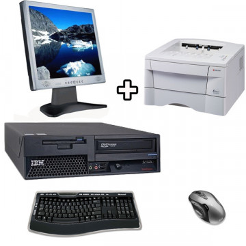 IBM Thinkcentre 8142 + Monitor LCD 17 inci + Kyocera 1020D
