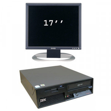 IBM ThinkCentre P4 Desktop, 3Ghz + Monitor LCD 17 inci