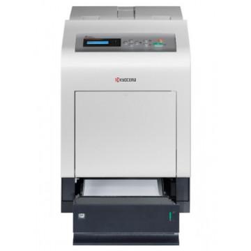 Imprimanta KYOCERA FS-C5200DN, Duplex, Retea, 21 PPM, USB 2.0, 600 x 600 DPI, Color, A4 Imprimante Second Hand