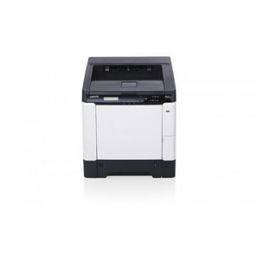 Imprimanta KYOCERA FS-C5250DN, 26 PPM, 600 x 600 DPI, USB, Retea, A4, Color Imprimante Second Hand
