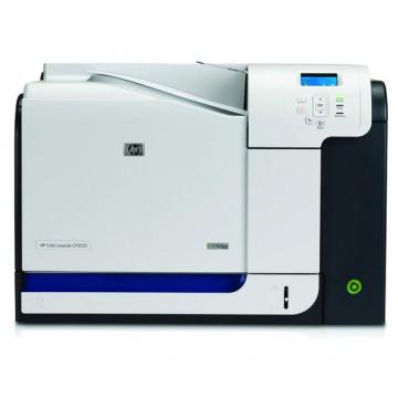 Imprimanta Laser Color HP LaserJet CP3525DN, 30 ppm, 1200 x 600 dpi, Duplex, USB, Retea, Fara Cartuse, Second Hand Imprimante Second Hand