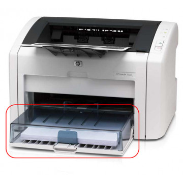 Imprimanta laser Monocrom HP 1022, 19ppm, 1200 x 1200, USB, Lipsa tava Imprimante Second Hand