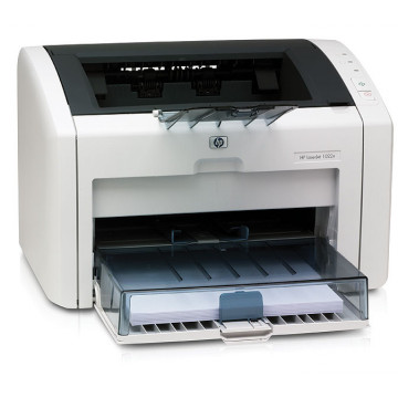 Imprimanta Laser Monocrom HP 1022N, 19ppm, 1200 dpi, Retea Imprimante Second Hand