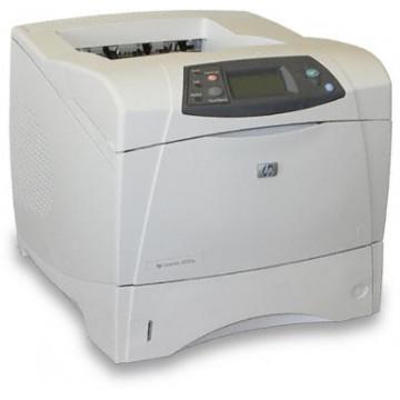 Imprimanta Laser Monocrom HP LaserJet 4200DN, Duplex, 35ppm, 1200 x 1200, Paralel, Retea, Second Hand Imprimante Second Hand