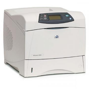 Imprimanta Laser Monocrom HP LaserJet 4250DN, A4, Duplex, 45 PPM, 1200 x 1200, Retea, USB, Toner Nou 20k, Second Hand Imprimante Second Hand