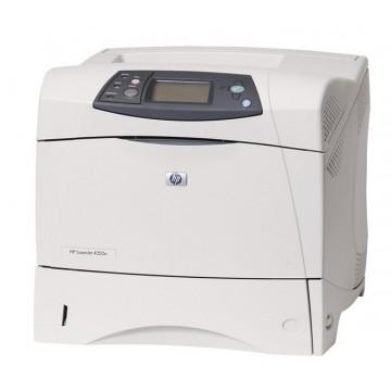 Imprimanta Laser Monocrom HP LaserJet 4350DN, A4, Duplex, 52 PPM, 1200 x 1200, Paralel, Retea, USB Imprimante Second Hand