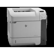 Imprimanta Laser Monocrom HP LaserJet 600 M602N, A4, 52ppm, 1200 x 1200dpi, USB, Retea, Second Hand Imprimante Second Hand
