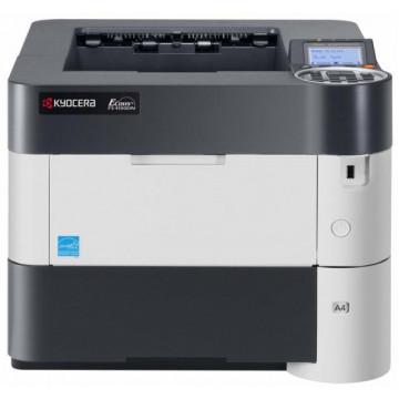 Imprimanta Laser Monocrom KYOCERA FS-4100DN, 45 PPM, Duplex, Retea, USB, 1200 x 1200, A4, Fara Unitate Drum si Toner, Second Hand Imprimante Second Hand