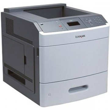 Imprimanta Laser Monocrom Lexmark T650N, A4, 45ppm, 1200 x 1200dpi, USB, Retea Imprimante Second Hand