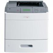 Imprimanta laser monocrom Lexmark T652DN, Duplex, USB, Retea, 48 ppm Imprimante Second Hand