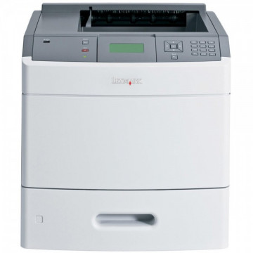 Imprimanta laser monocrom Lexmark T652DN, USB, Retea, Duplex, 48 ppm, Second Hand Imprimante Second Hand