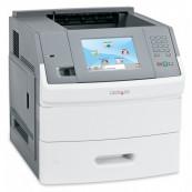 Imprimanta Laser Monocrom Lexmark T656DNE, A4, Duplex, Retea, USB, 53ppm, Second Hand Imprimante Second Hand
