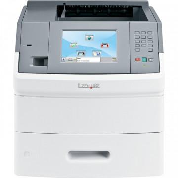 Imprimanta laser monocrom Lexmark T656DNE, Duplex, Retea, 55ppm, Cartus NOU Compatibil 25k Imprimante Second Hand