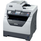 Imprimanta Multifunctionala Brother MFC-8380DN, 30 PPM, 1200 x 1200 DPI , Duplex, Retea, A4, Monocrom, Cartus si Unitate Drum Noi, Second Hand Imprimante Second Hand