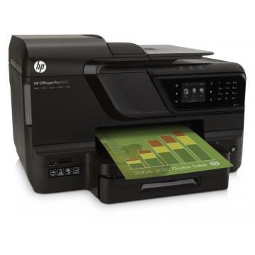 Imprimante Color Cerneala HP OfficeJet 8600 Pro, 18 ppm, USB, Modem, Retea, Duplex, 1200 x 600 dpi Imprimante Noi
