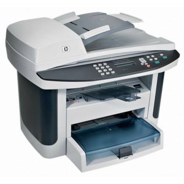 Imprimante Laser HP LaserJet M1522n, 24 ppm, Monocrom, USB, Retea, ADF, Copiator, Scaner Imprimante Second Hand