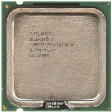 Intel Celeron D 335j, 2800 mhz