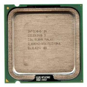 Intel Celeron D 336, 2800 mhz,