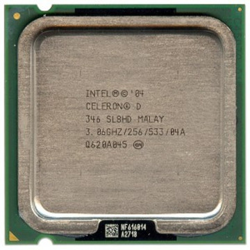 Intel Celeron D 346, 3006 mhz