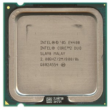 Intel Core 2 Duo E4400, 2000 Mhz