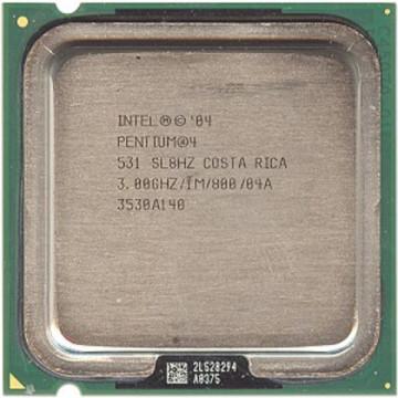 Intel Pentium 4 HT,  531, 3000 mhz