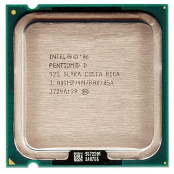 Intel Pentium D 925, 3000 mhz