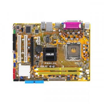 Kit Placa de baza Asus P5GC-MX, PCIe x16, VGA, DDR2, Skt 775, Intel GMA 950 + Pentium Dual Core 3Ghz