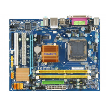 Kit Placa de Baza S775 Gigabyte GA-G31M cu procesor Intel Core2Duo E8300 2.83Ghz,  4GB RAM DDR2 si Cooler, second hand