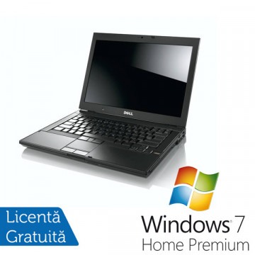 Laptop Dell E6410, Intel Core i5-520M, 2.4Ghz, 4Gb DDR3, 250Gb, DVD-ROM, 14 inch + Windows 7 Professional Laptopuri Refurbished