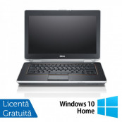 Laptop DELL Latitude E6420, Intel Core i5-2520M 2.50GHz, 4GB DDR3, 320GB SATA, DVD-RW, 14 Inch, Webcam + Windows 10 Home Laptopuri Refurbished