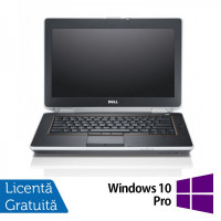 Laptop DELL Latitude E6420, Intel Core i5-2520M 2.50GHz, 4GB DDR3, 320GB SATA, DVD-RW, 14 Inch, Webcam + Windows 10 Pro