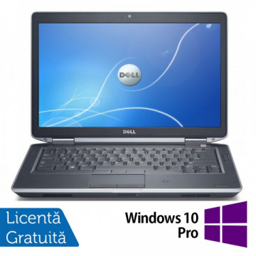 Laptop DELL Latitude E6430, Intel i5-3320M 2.60GHz, 4GB DDR3, 250GB SATA, DVD-RW, 14 Inch + Windows 10 Pro Laptopuri Refurbished