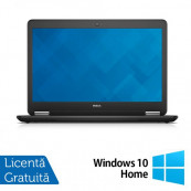 Laptop DELL Latitude E7440, Intel Core i7-4600U 2.10GHz, 8GB DDR3, 240GB SSD, Webcam + Windows 10 Home Laptopuri Refurbished