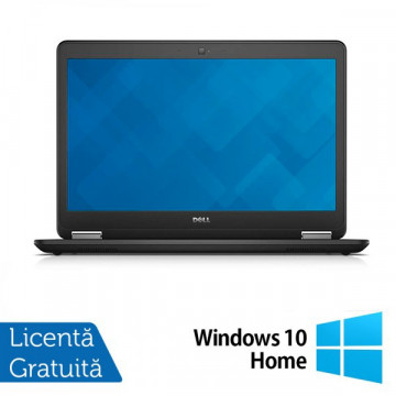Laptop DELL Latitude E7440, Intel Core i7-4600U 2.10GHz, 8GB DDR3, 240GB SSD, Webcam + Windows 10 Home Laptopuri Refurbished