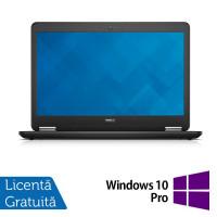 Laptop DELL Latitude E7440, Intel Core i7-4600U 2.10GHz, 8GB DDR3, 240GB SSD, Webcam + Windows 10 Pro