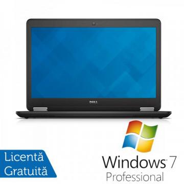 Laptop DELL Latitude E7450, Intel Core i5-5300U 2.30 GHz, 8GB DDR3, 256GB SSD + Windows 7 Professional