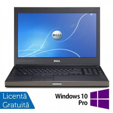 Laptop DELL Precision M4700, Intel Core i7-3540M 3.0GHz, 16GB DDR3, 320GB SATA,DVD-RW, nVidia Quadro K2000M + Windows 10 Pro Laptopuri Refurbished