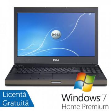 Laptop DELL Precision M4700, Intel Core i7-3540M 3.0GHz, 16GB DDR3, 320GB SATA,DVD-RW, nVidia Quadro K2000M + Windows 7 Home Premium Laptopuri Refurbished
