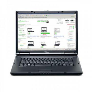 Laptop FUJITSU SIEMENS Esprimo V5535, Intel Celeron 530 1.73 GHz, 1GB DDR2, 80GB SATA, 15.4 inch, DVD-RW Laptopuri Second Hand