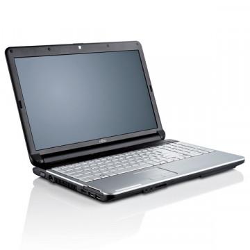 Laptop Fujitsu Siemens LifeBook A530, i3-350M 2.26GHz, 4GB DDR3, 250GB SATA, DVD-RW, 15.6 Inch, Webcam, Tastatura Numerica Laptopuri Second Hand