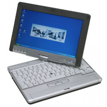 Laptop Fujitsu Siemens P1510, Pentium M 1.2 ghz, 60gb, 1gb ram, Touchscreen Laptopuri Second Hand
