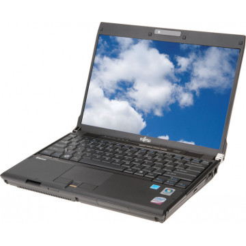 Laptop FUJITSU SIEMENS P8020, Intel Core 2 Duo SU9400, 1.4GHz, 4GB DDR2, 160GB SATA, DVD-RW, Grad A- Laptop cu Pret Redus