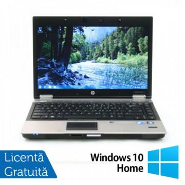 Laptop HP 8440p, Intel Core i7-620M 2.66GHz, 4GB DDR3, 320GB SATA, DVD-RW + Windows 10 Home Laptopuri Refurbished